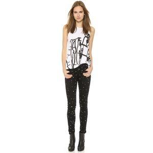 Rag & Bone ♡ Splatter Jeans